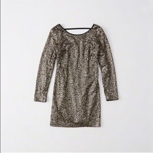 Abercrombie & Fitch Sequin Shift Dress